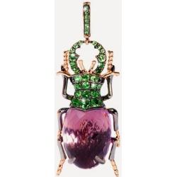 18ct Rose Gold Mythology Amethyst Beetle Charm found on Bargain Bro UK from Liberty.co.uk