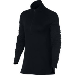 Nike Women's Dry Half Zip Long Sleeve Top  - Black XS found on Bargain Bro India from golftown.com for $72.37