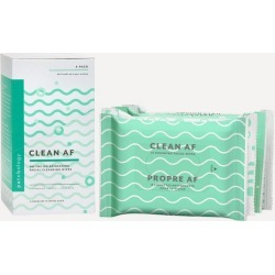 Clean AF Facial Cleansing Wipes 4 Pack found on Makeup Collection from Liberty.co.uk for GBP 19.99