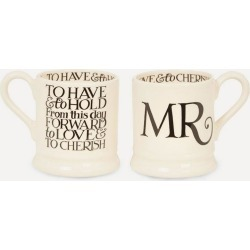 Mr. and Mr. Half Pint Mugs Set of Two found on Bargain Bro UK from Liberty.co.uk