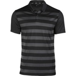 Nike Men's Dry Stripe Short Sleeve Polo - Black S found on Bargain Bro India from golftown.com for $60.95