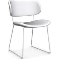 Claire Dining Chair Set of 2 White