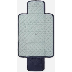 Navy Quilted Changing Mat