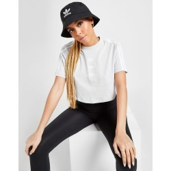 adidas Originals 3-Stripes Repeat Trefoil Crop T-Shirt - Only at JD - Womens - Grey found on Bargain Bro India from JD Sports Malaysia for $43.40