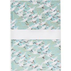 White Cranes Medium Notebook found on Bargain Bro UK from Liberty.co.uk