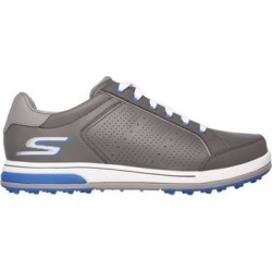 Skechers Men's Go Drive Relaxed Fit Spikeless Golf Shoe - DKGray/Blue - M 8.5 found on Bargain Bro India from golftown.com for $98.41