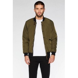 Quiz Khaki Padded Bomber Jacket found on Bargain Bro UK from Quiz Clothing