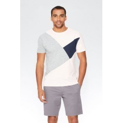 Quiz Pink Cut & Sew Panel T-Shirt found on Bargain Bro UK from Quiz Clothing