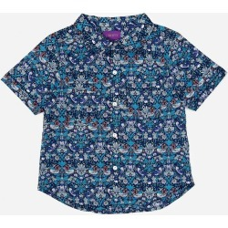 Strawberry Thief Tana Lawn Cotton Short-Sleeve Shirt 2-6 Years found on Bargain Bro UK from Liberty.co.uk