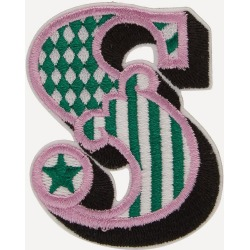 Embroidered Sticker Patch in S found on Bargain Bro UK from Liberty.co.uk