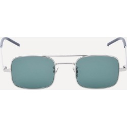 Square-Frame Silver-Tone Metal Sunglasses found on Bargain Bro UK from Liberty.co.uk