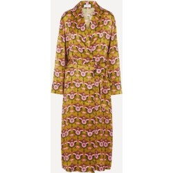 Pia Silk Charmeuse Robe found on MODAPINS from Liberty.co.uk for USD $554.42