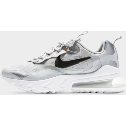 Air Max 270 React Junior - Only at JD Australia - SILVER