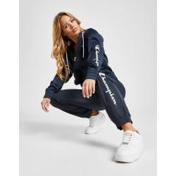 Champion Script Logo Tracksuit - Only at JD Australia - Navy/White