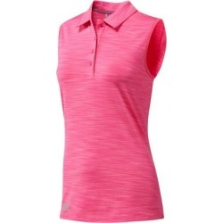 Adidas Women's Ultimate 365 Sleeveless Polo  - BRPink XL found on Bargain Bro India from golftown.com for $45.71