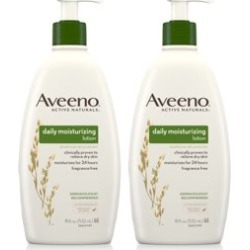 Aveeno Skin Relief Moisturizing Lotion for Sensitive Skin, 18 fl. oz - Walmart.com found on Bargain Bro from  for $7.97