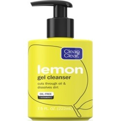 Clean & Clear Lemon Gel Facial Cleanser with Vitamin C, 7.5 fl. oz found on Bargain Bro from  for $5.96