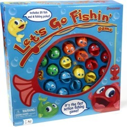 Pressman Toy Let's Go Fishin' Game found on Bargain Bro from  for $12.97