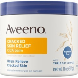 Aveeno Cracked Skin Relief Moisturizing CICA Balm with Oat, 11 oz found on Bargain Bro from  for $12.94