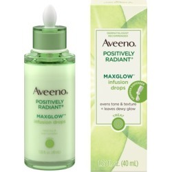Aveeno Positively Radiant MaxGlow Infusion Drops Serum, 1.35 fl. oz found on Bargain Bro from  for $17.83