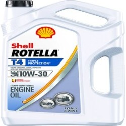 Shell Rotella T6 5W-40 Full Synthetic Heavy Duty Diesel Engine Oil, 1 gal - Walmart.com found on Bargain Bro from  for $19.97