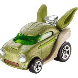 Hot Wheels Star Wars Yoda, Character Car itemprop= name Hot Wheels Star Wars Yoda, Character Car found on Bargain Bro from  for $3.99