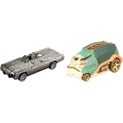 Star Wars Hot Wheels Jabba The Hutt vs. Han Solo In Carbonite Character Car Set itemprop= name Star Wars Hot Wheels Jabba The Hutt vs. Han Solo In Carbonite Character Car Set found on Bargain Bro from  for $9.99
