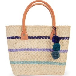 Eliza May Rose Small Toile Basket Tote found on Bargain Bro from  for $24