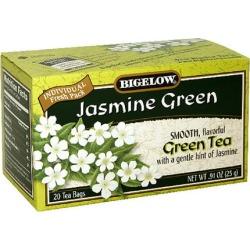 Bigelow Jasmine Green Tea, .91 oz, 20ct (Pack of 6)