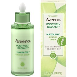 Aveeno Positively Radiant MaxGlow Infusion Drops Serum, 1.35 fl. oz - Walmart.com found on Bargain Bro from  for $17.83