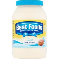 Best Foods Light Mayonnaise, 48 oz
