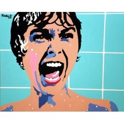 Advanced Graphics Janet Leigh The Scream Jammer Wall Mural