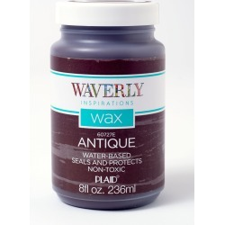 Waverly Inspirations 60727E Chalk Paint Wax, Ultra Matte Finish, Antique, 8 fl oz, Wal-mart, Walmart.com found on Bargain Bro from  for $6.54