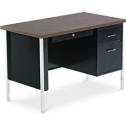 Alera Computer Desk with Single Pedestal