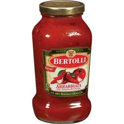 Bertolli ® Arrabbiata Spicy Tomato & Red Pepper Tomato Sauce 24 oz. Jar