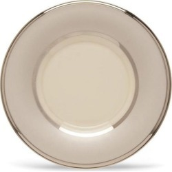 Lenox Ivory Frost Can Saucer - Set of 2