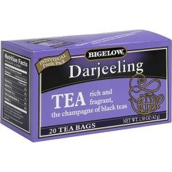 Bigelow Darjeeling Tea Bags, 20ct (Pack of 6)