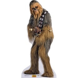 Advanced Graphics Star Wars Chewbacca Life Size Cardboard Stand Up