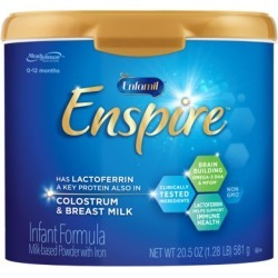 Enfamil Enspire Infant Formula - Our Closest to Breast Milk, Powder, 20.5 oz Tub found on Bargain Bro from  for $27.37