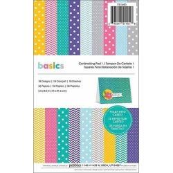 "American Crafts Basics Cardmaking Pad, 5.5"" x 8.5"