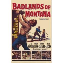 Badlands of Montana Movie Poster (11 x 17)
