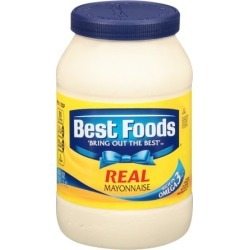 Best Foods Real Mayonnaise, 48 Ounce