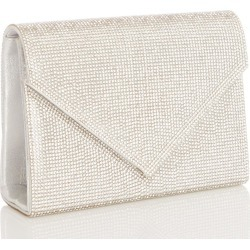 Silver Diamante Clutch Bag found on Bargain Bro UK from Quiz Clothing