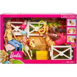 Barbie Hugs And Horses Set