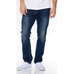 Blue Abrasion Slim Fit Jeans found on Bargain Bro UK from Quiz Clothing