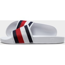 Tommy Hilfiger Maezie Rbn Slde W Wht/nvy/red - White - Womens found on Bargain Bro from JD Sports Australia for USD $17.05