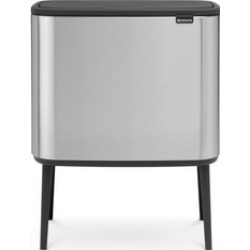 Bo Touch Bin Matt Silver-Tone found on Bargain Bro India from Arnotts UK/IE for $206.47