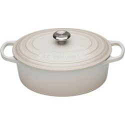 Signature Cast Iron Oval Casserole 25cm Meringue found on Bargain Bro India from Arnotts UK/IE for $344.50
