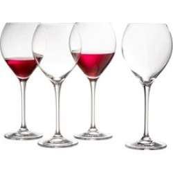 Clarity Red Wine Set of 4 found on Bargain Bro India from Arnotts UK/IE for $25.52