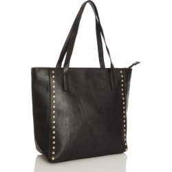 Black Stud Tote Bag found on Bargain Bro UK from Quiz Clothing